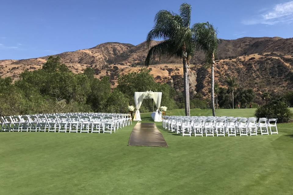 New ceremony arch