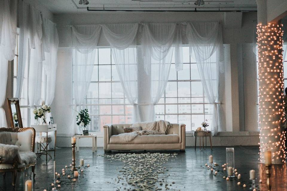 Unique loft venue New York