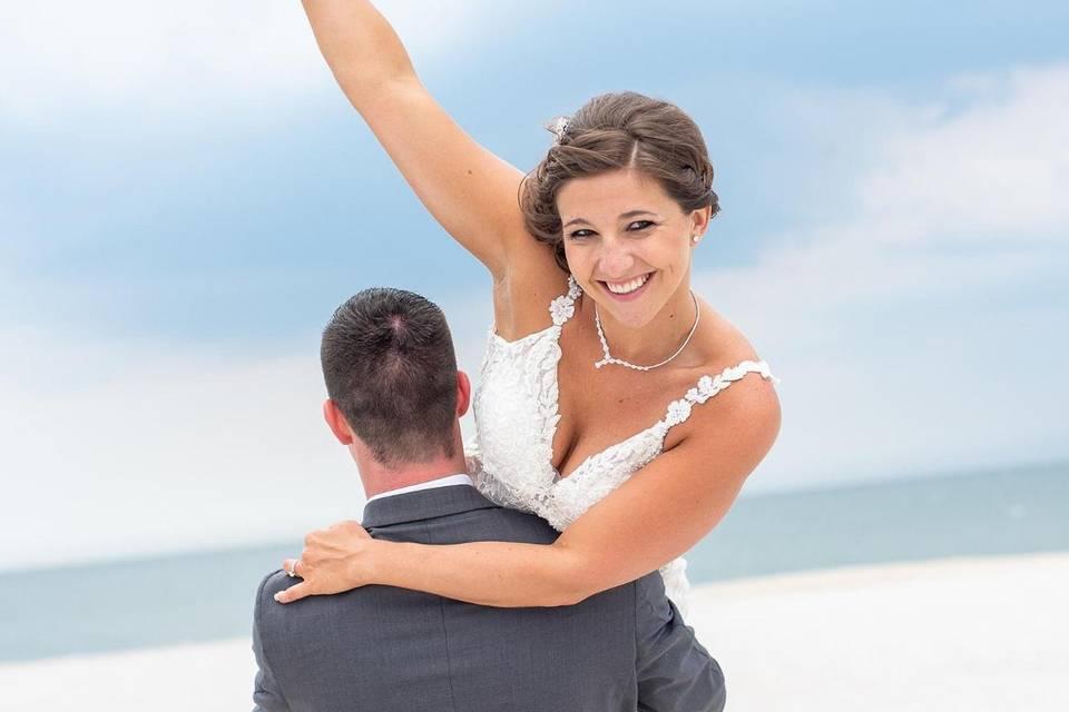Beautiful bridal styling