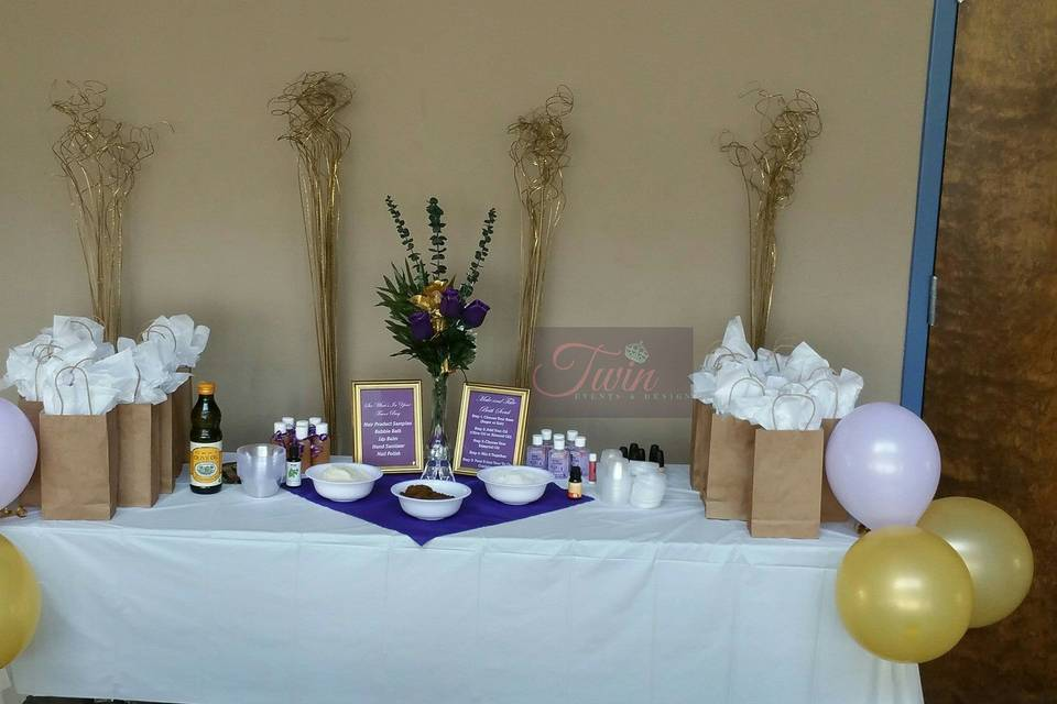 Twin Events and Design