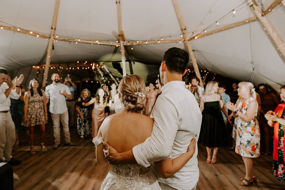 Feel the love in our tipis