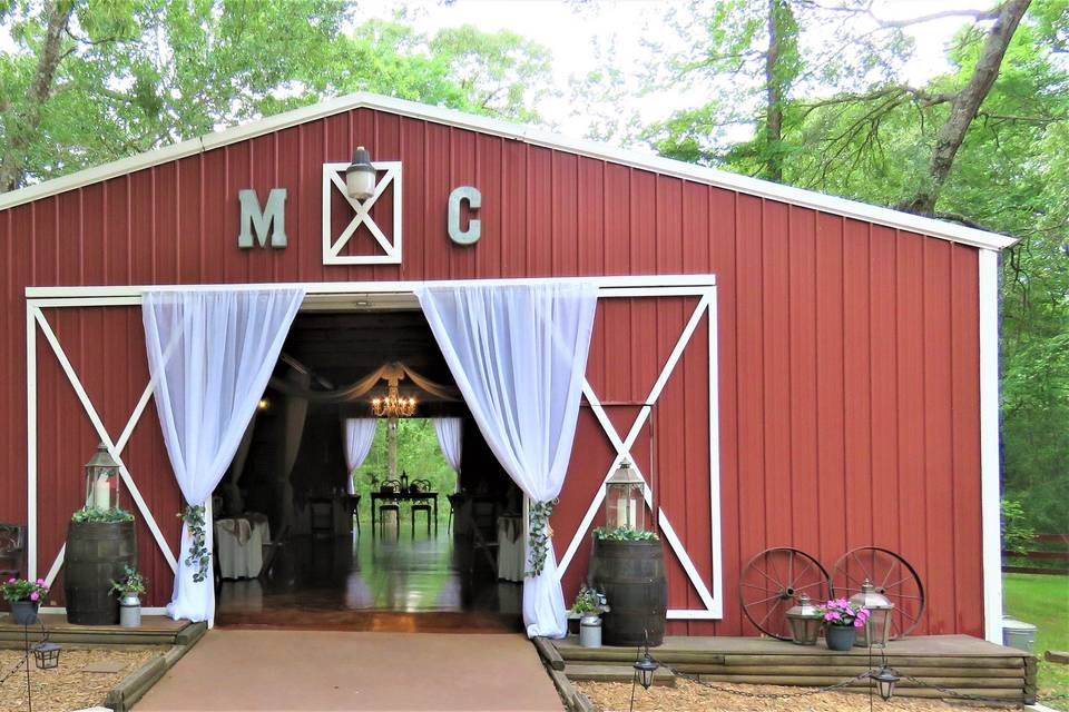 Barn Front View