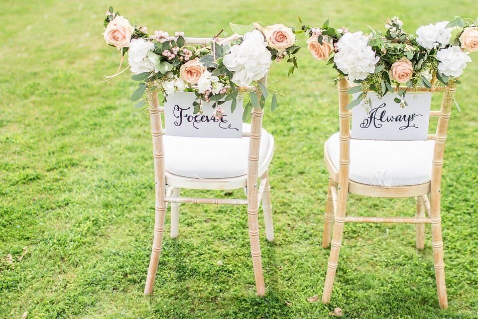 Small, simple wedding