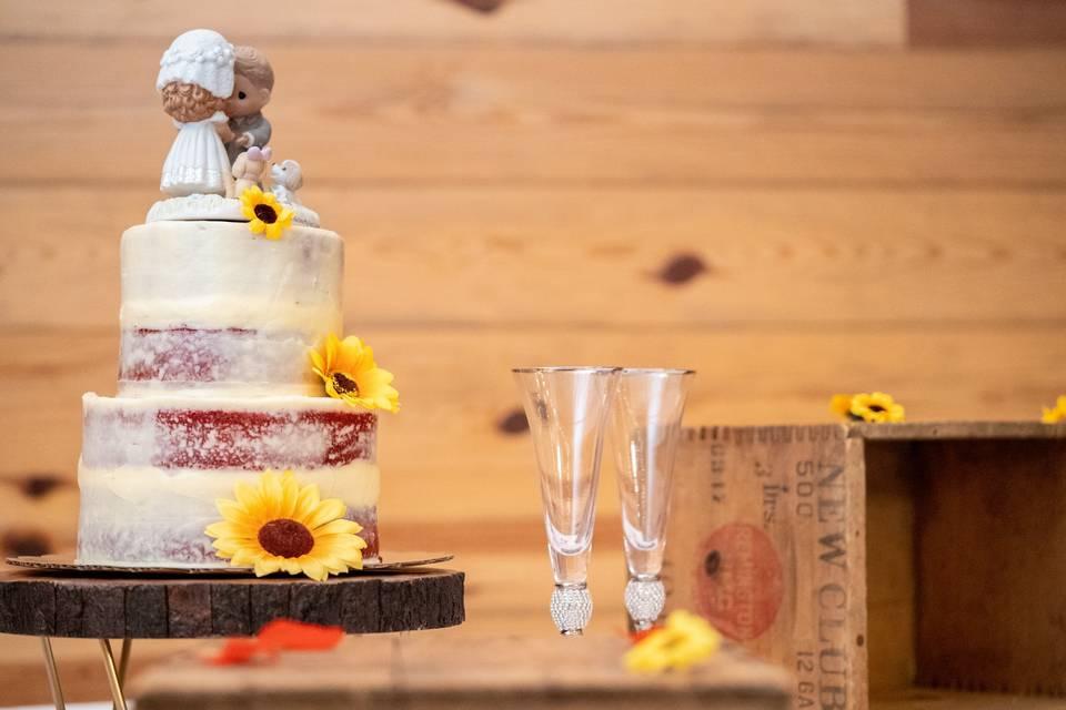 Charming cake