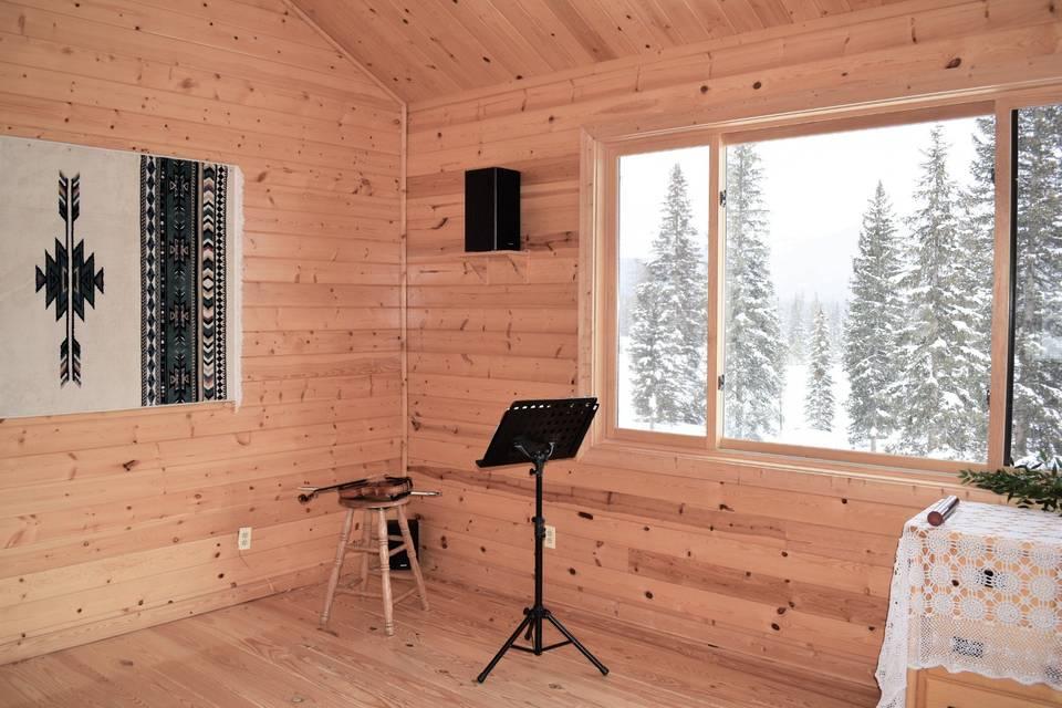 Winter indoor wedding