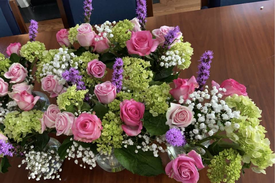 Gorgeous bouquet we created