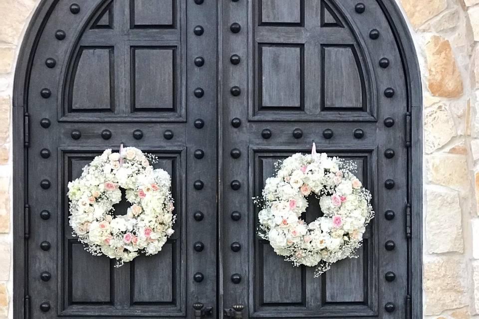 Ceremony wreaths