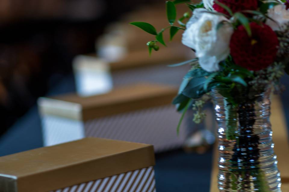 Flowers and table decor