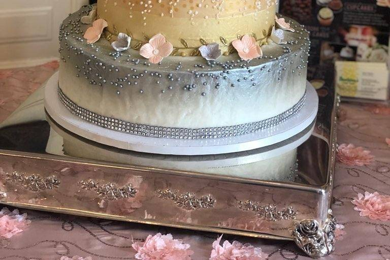Scratch bakery wedding cake