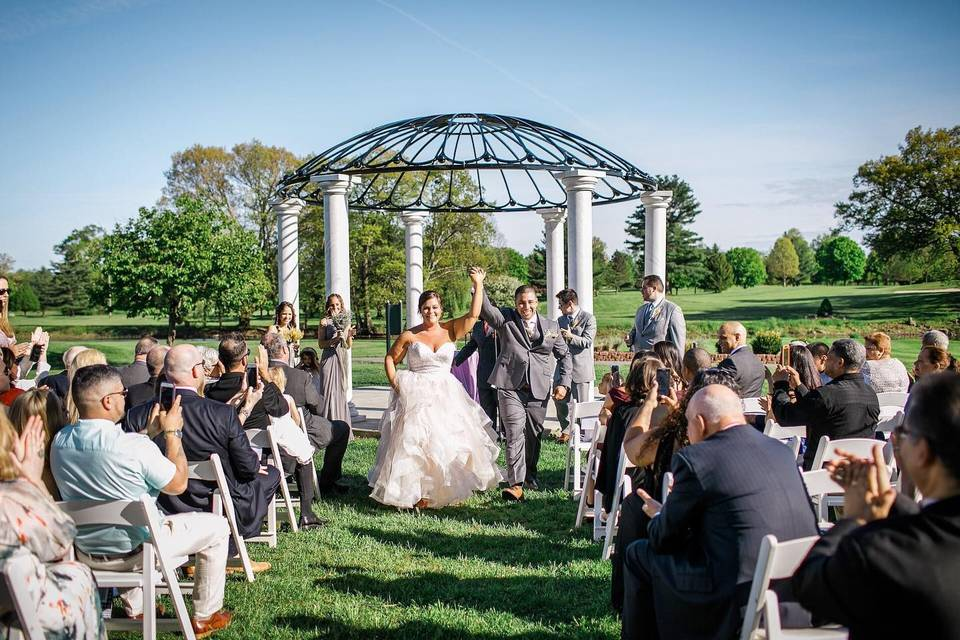 Formal Wedding Gazebo