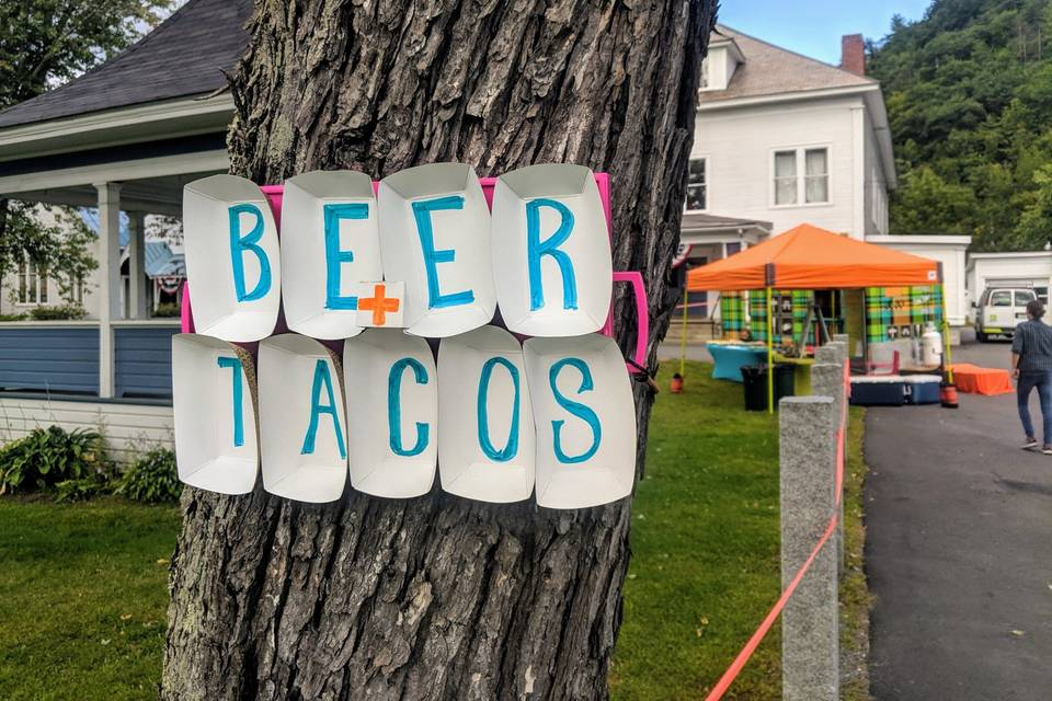 TRAIL BREAK taps + tacos