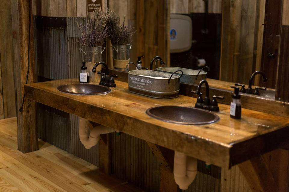 Barn restrooms ADA compliant