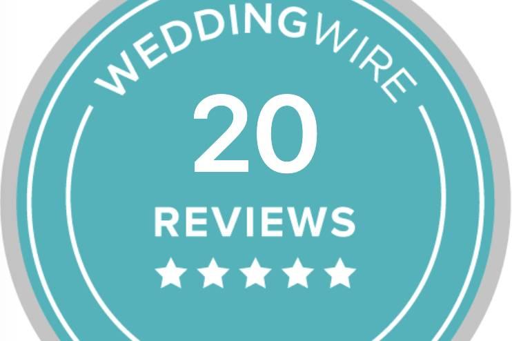 Recent 5 star reviews!