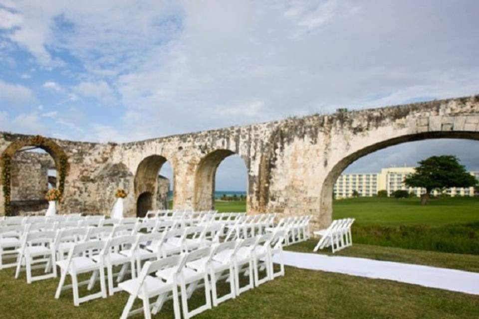 Historic beachfront venue