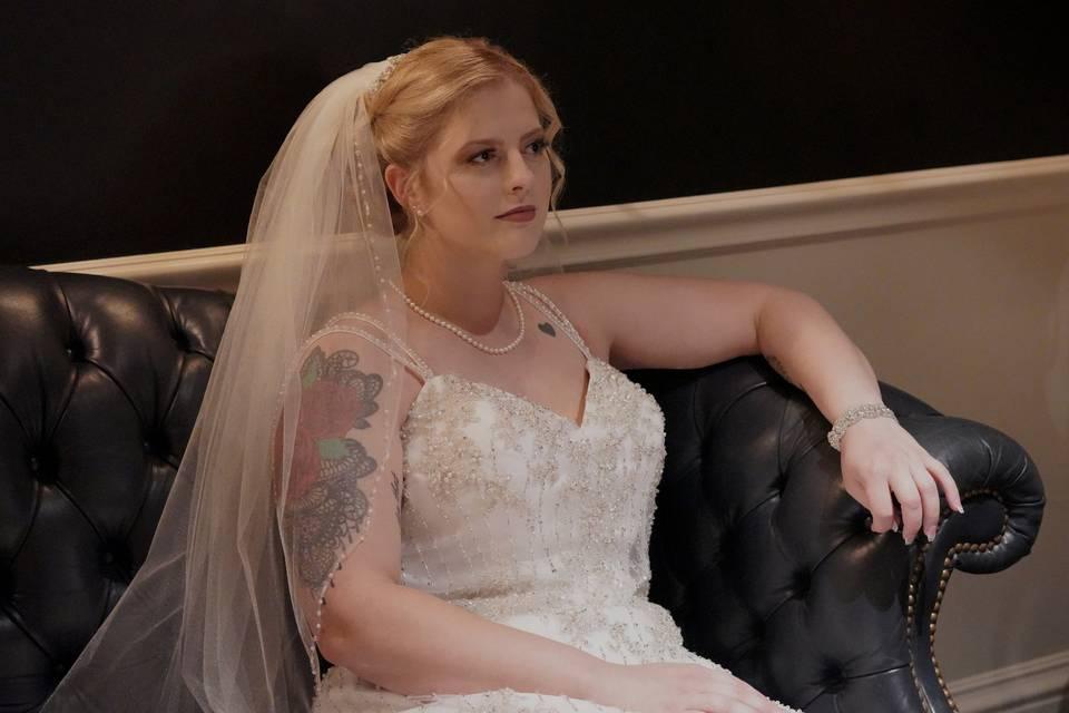Brides room photo shoot.