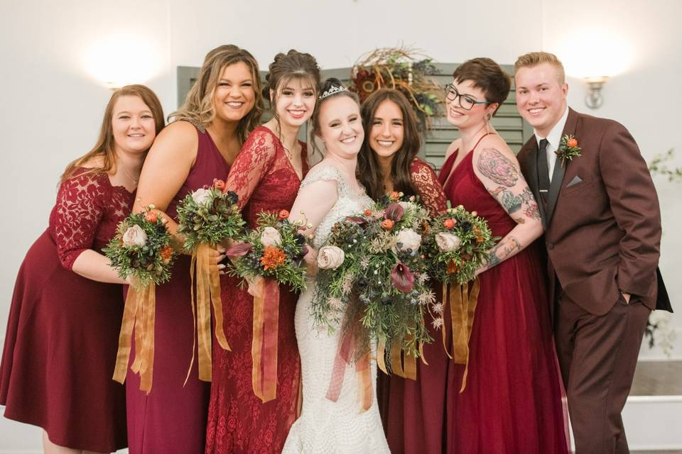Autumnal wedding - Suzanne Lytle Photography