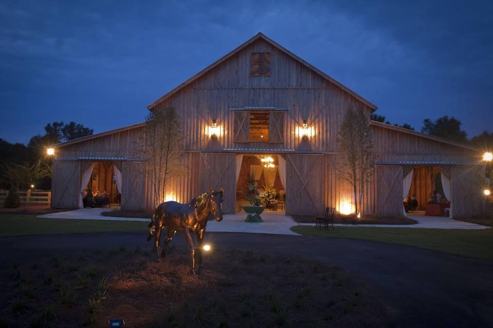 The Cedar Barn of Southern Bridle Farms