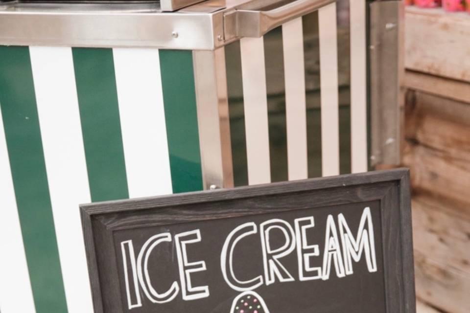 Ice-cream sign (Michelle Turek Photo)
