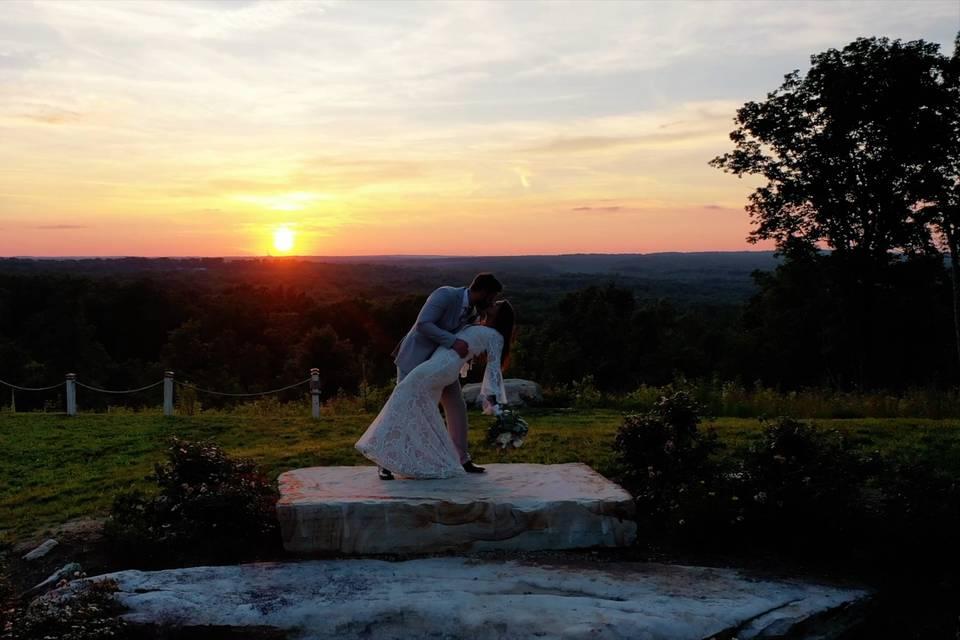 Kurtis & Roni by the sunset