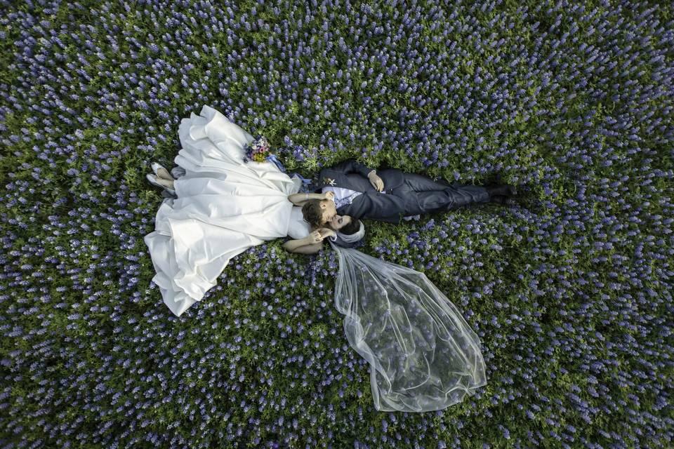 Bluebonnet wedding photography