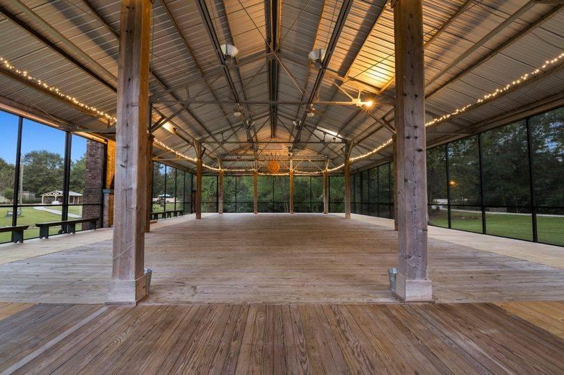 The Historic Pavilion Interior