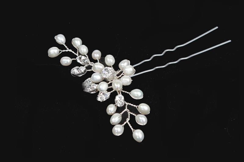 Freshwater pearl hairpin