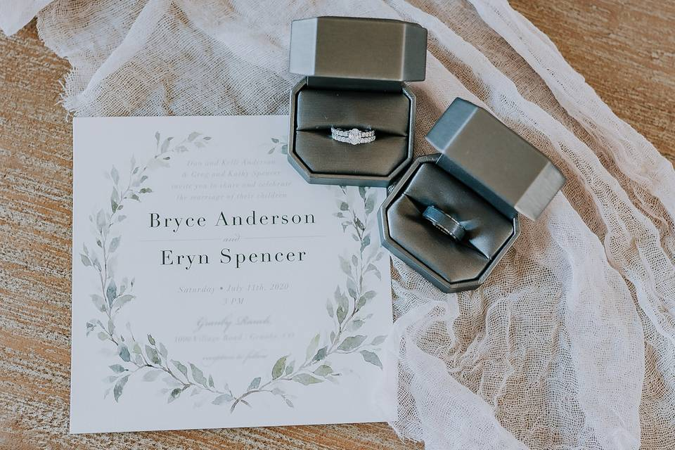 Granby Wedding Details