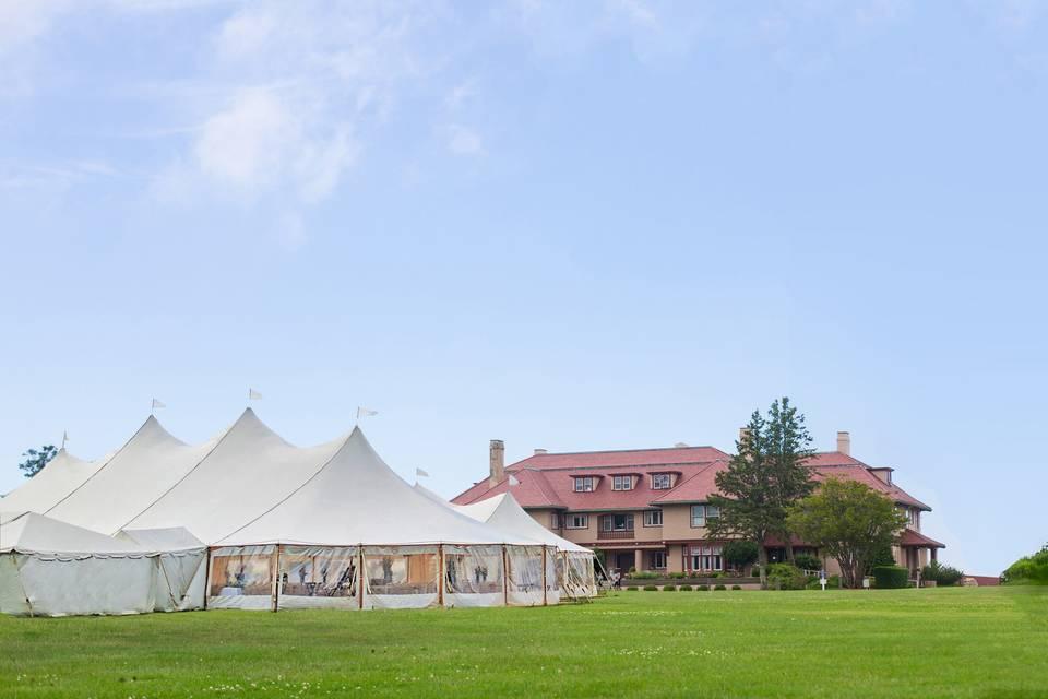 Exterior view of venue