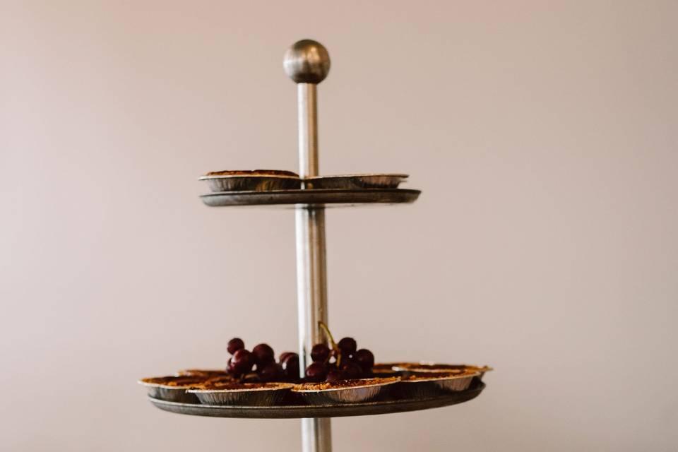 Mini pies for dessert