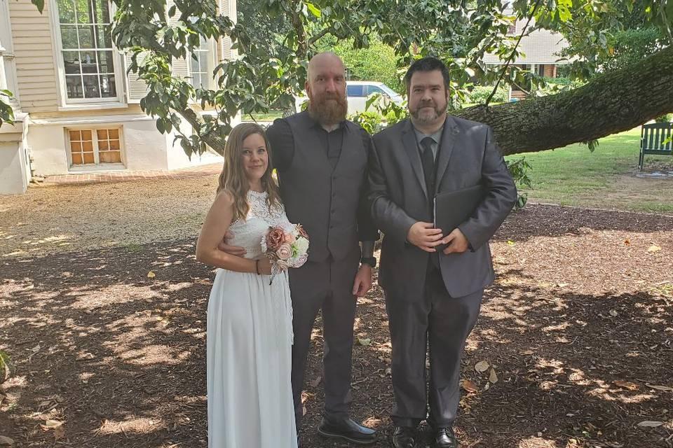 Chris Karol Marriage Officiant