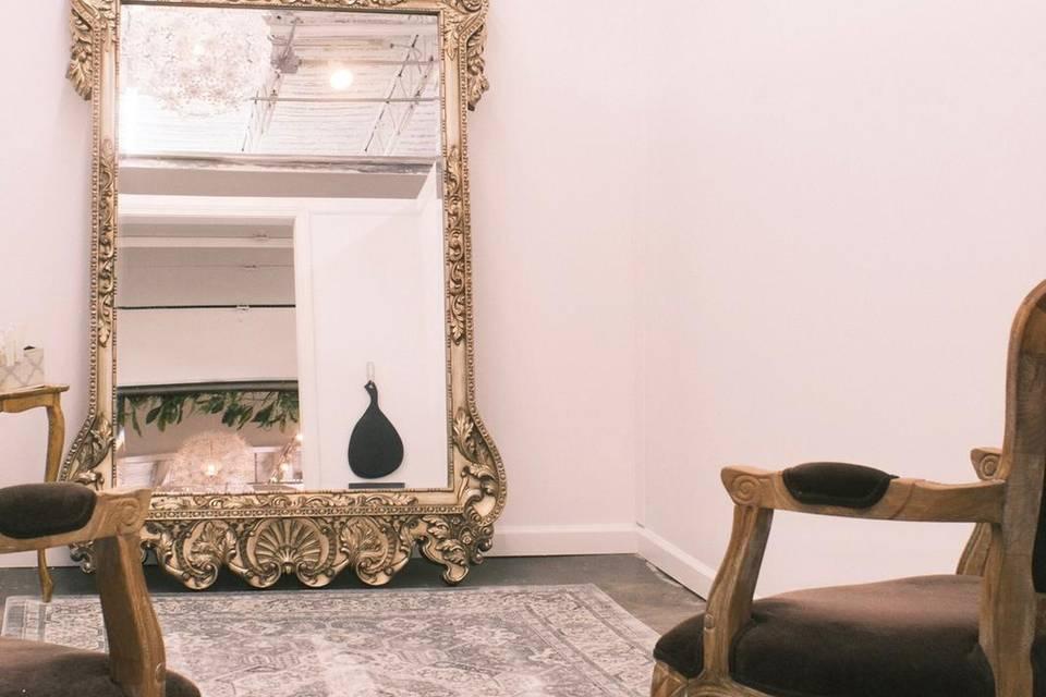 Elegant wedding rooms