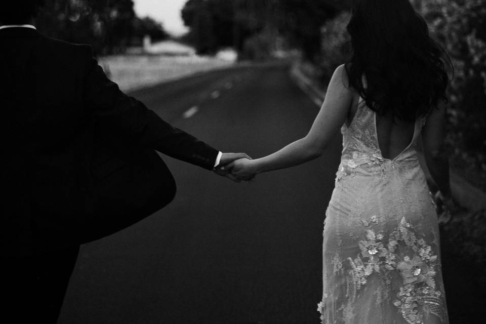 Just married - Danielle Waters Photography