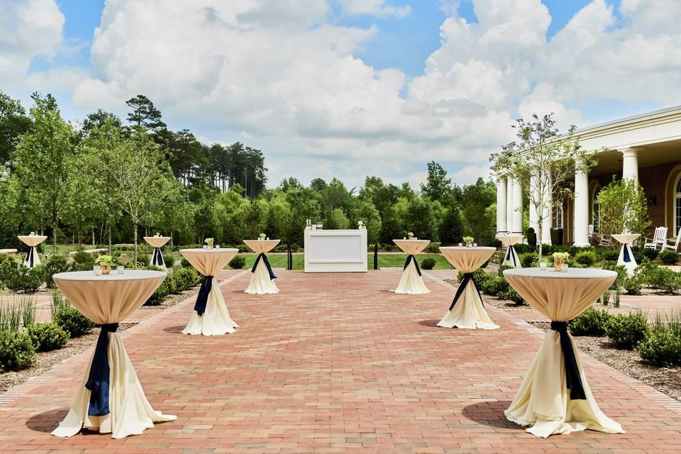 Lutz Colonnade reception