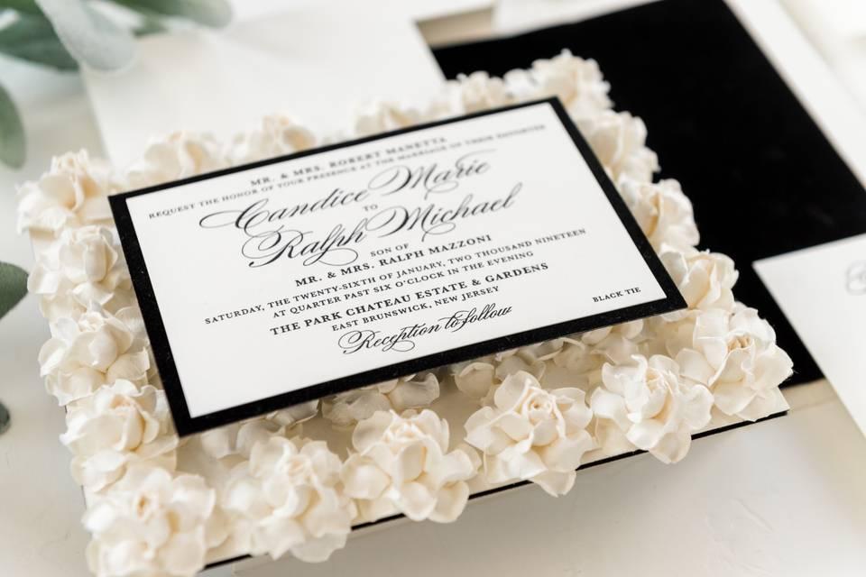 Flower bed invitation