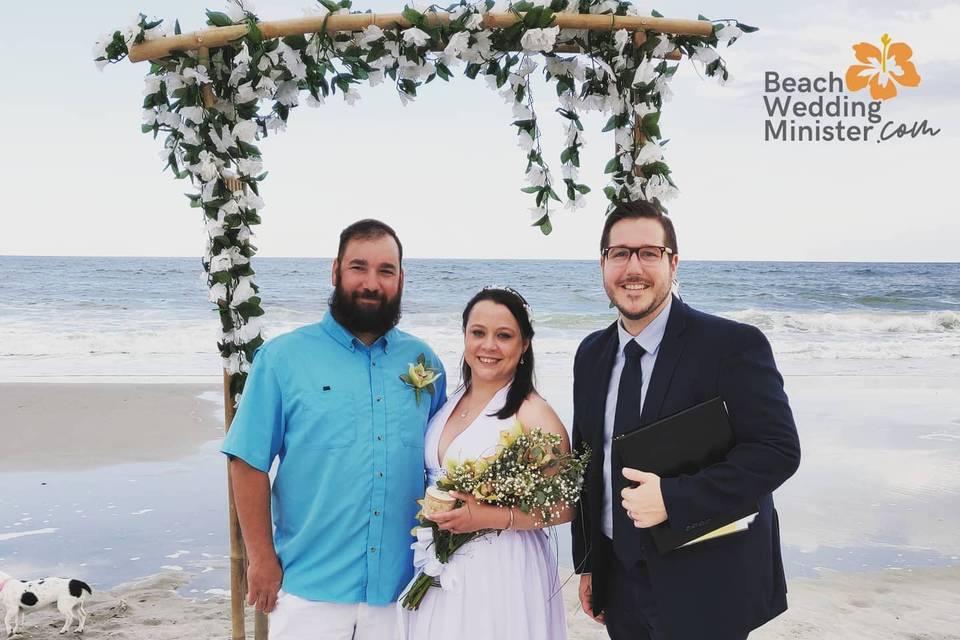 Beach Wedding Minister