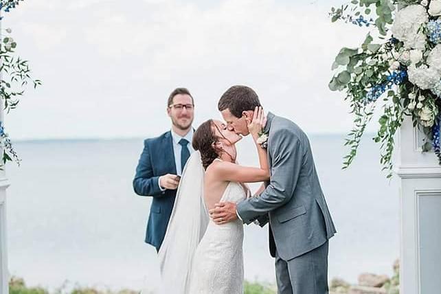 Beautiful wedding in Havelock