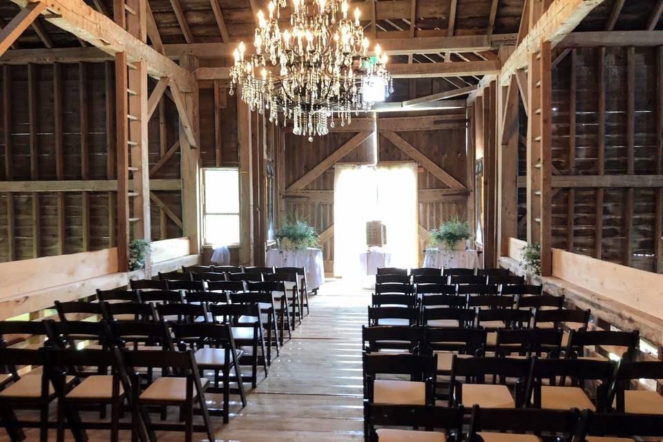 Second Level Barn Floor