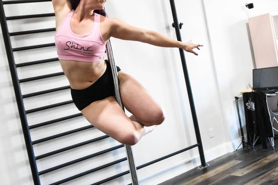 Pole Fitness @ Shine
