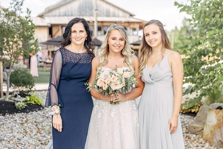 White birch barn wedding