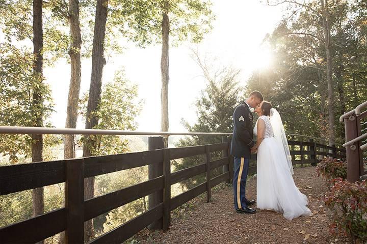 Military destination wedding