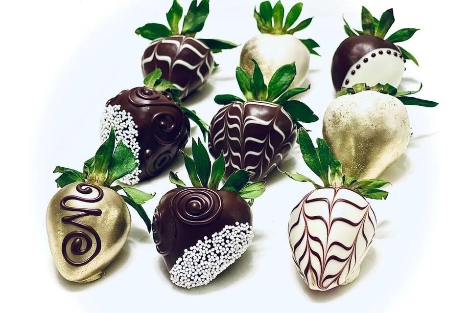 Decorative strawberries