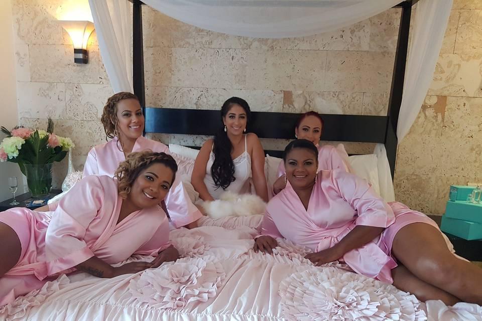 Bride and Ladies