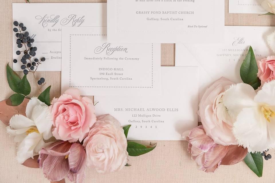 Invite, Engraved