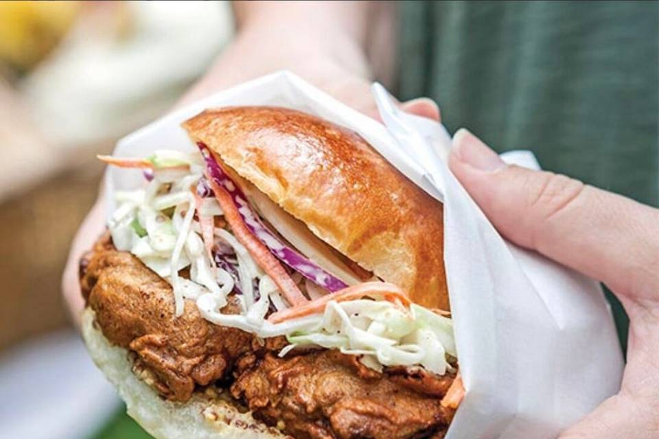 Fried-chicken sandwiches