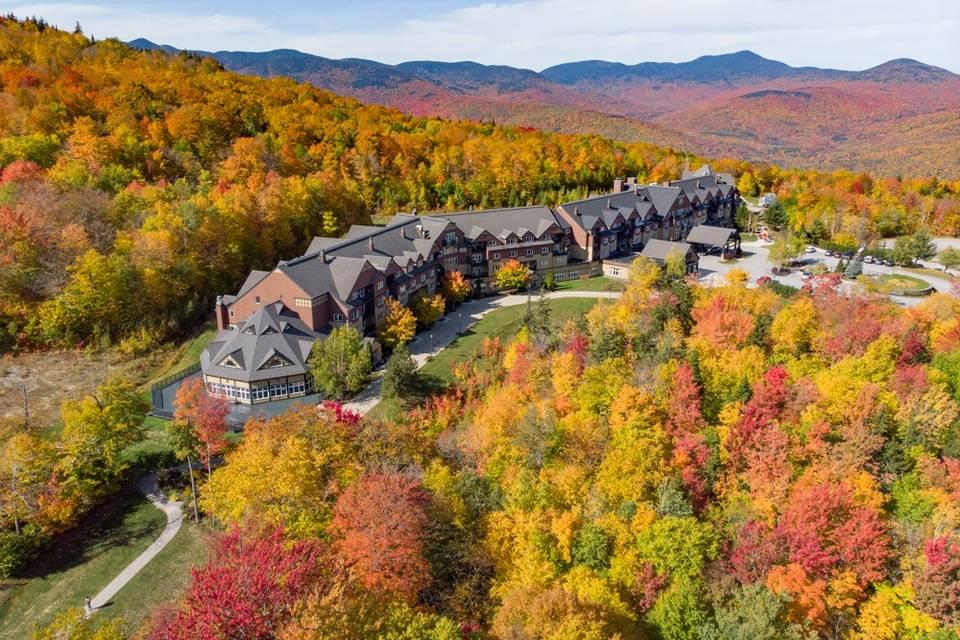 The Jordan Hotel in the fall