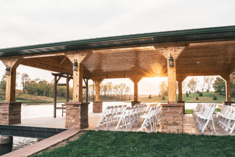 Pond Ceremony Site
