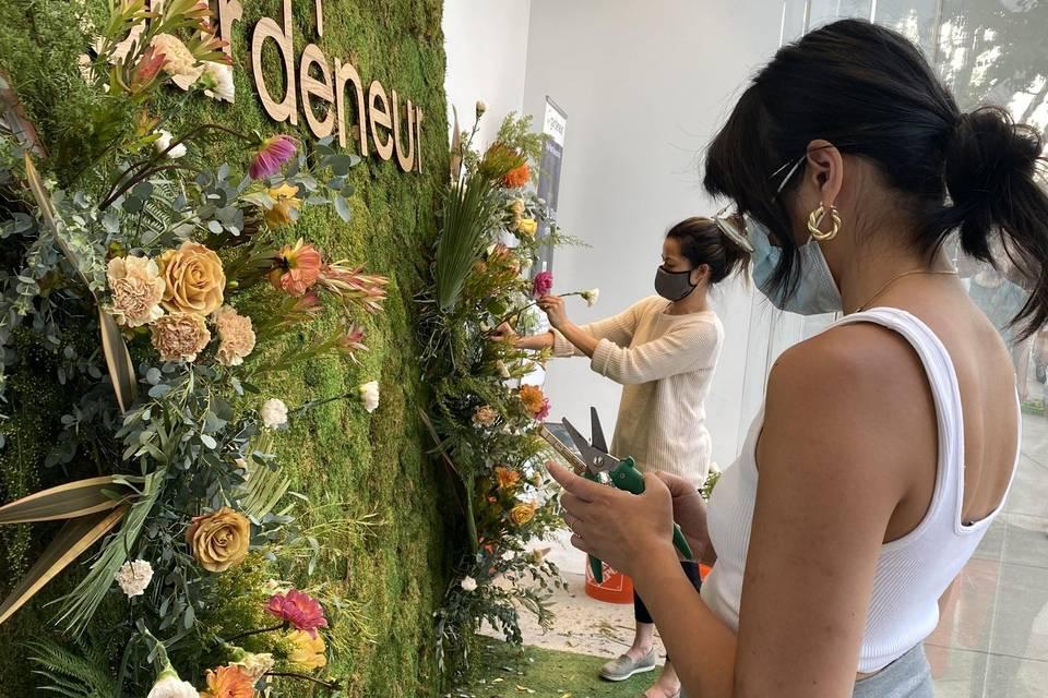 Gardeneur Wall @ Stanford Shop