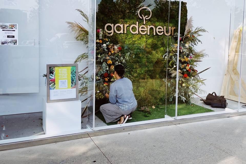 Gardeneur wall @ Stanford