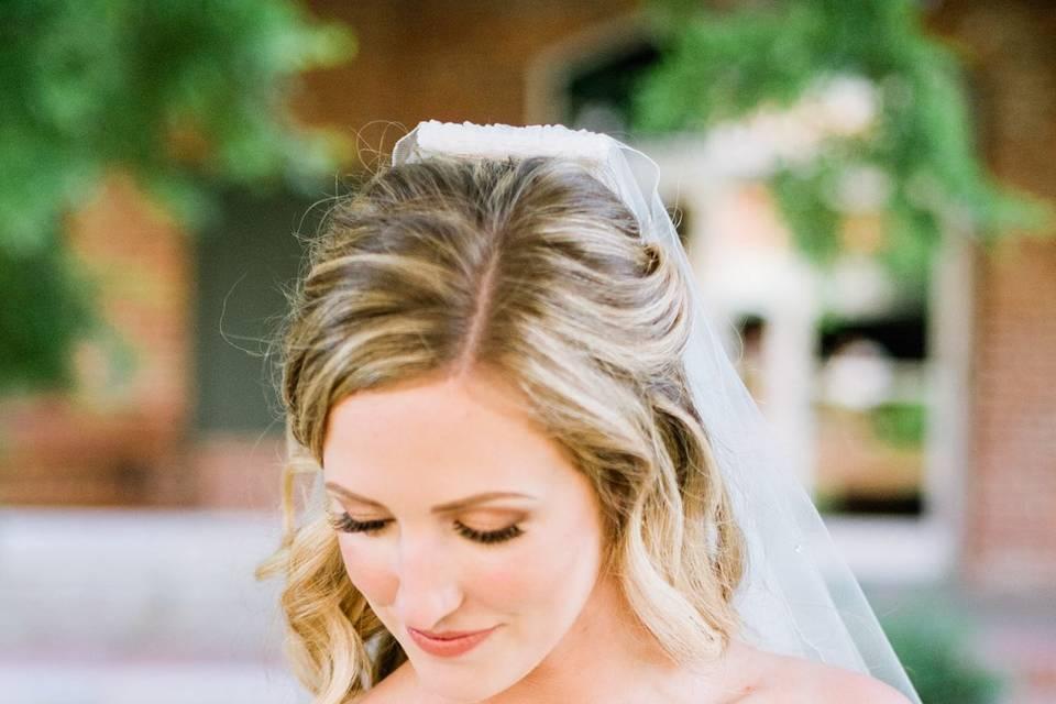 Bridal portrait - Darrough Photography