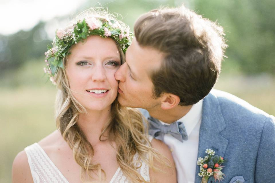 The newlyweds - Darrough Photography